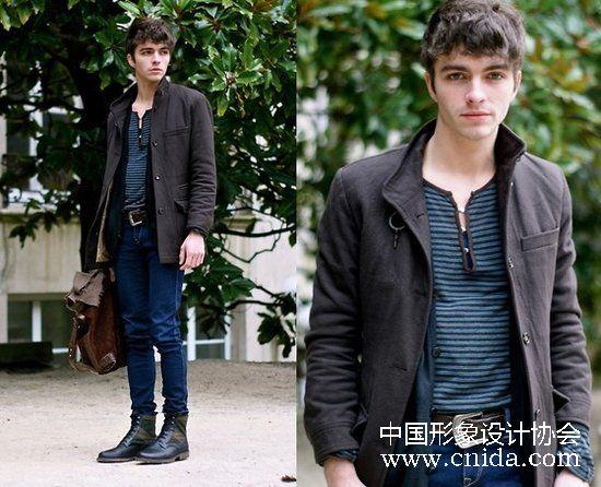 中国形象设计协会  男装元素