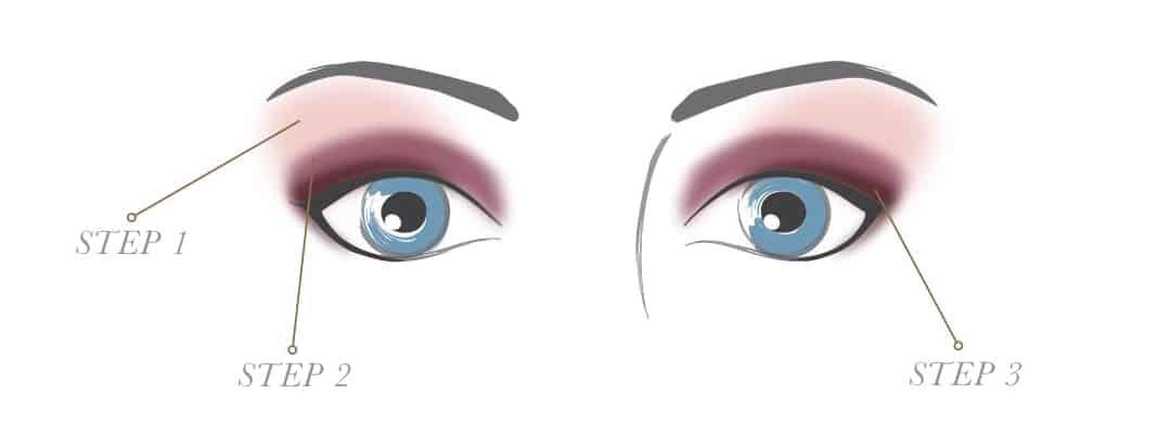派对眼部化妆为蓝色/绿色的美瞳